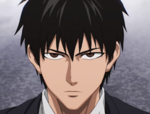 one punch man saitama avec cheveux