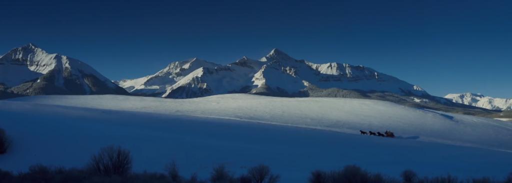 Les-8-Salopards-Le-Renard-Masqué les plaines glacées