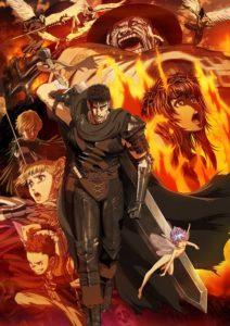 berserk 2016 le chevalier noir nouvel arc