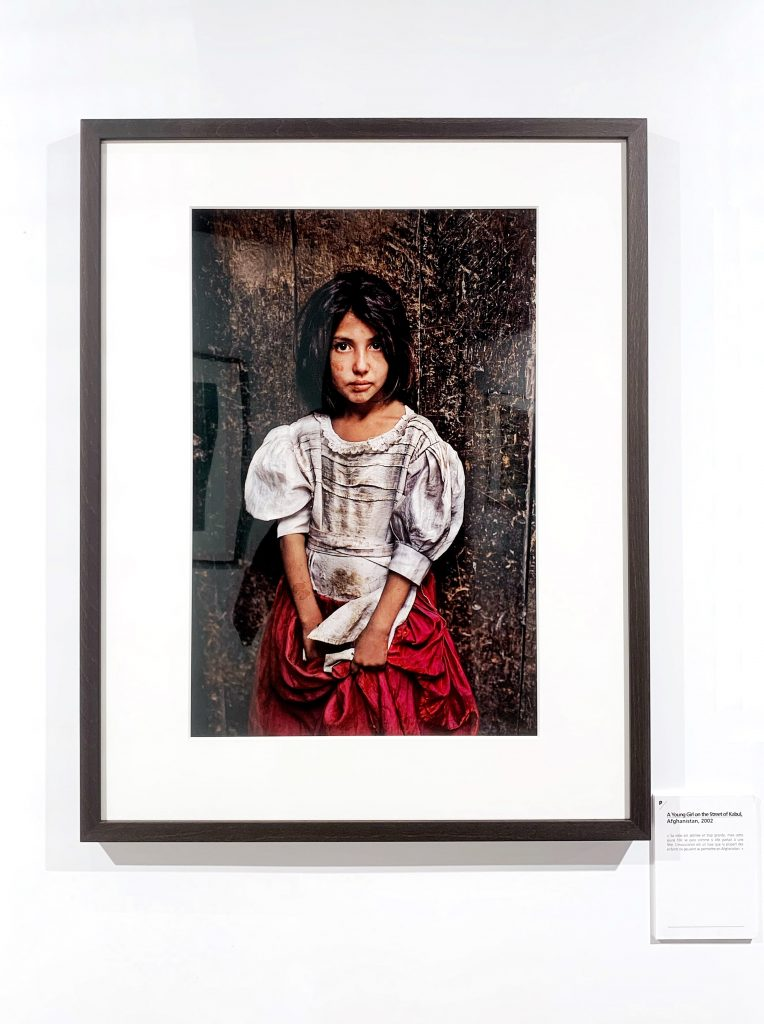 A Young Girl on the Street of Kabul Afghanistan 2002
