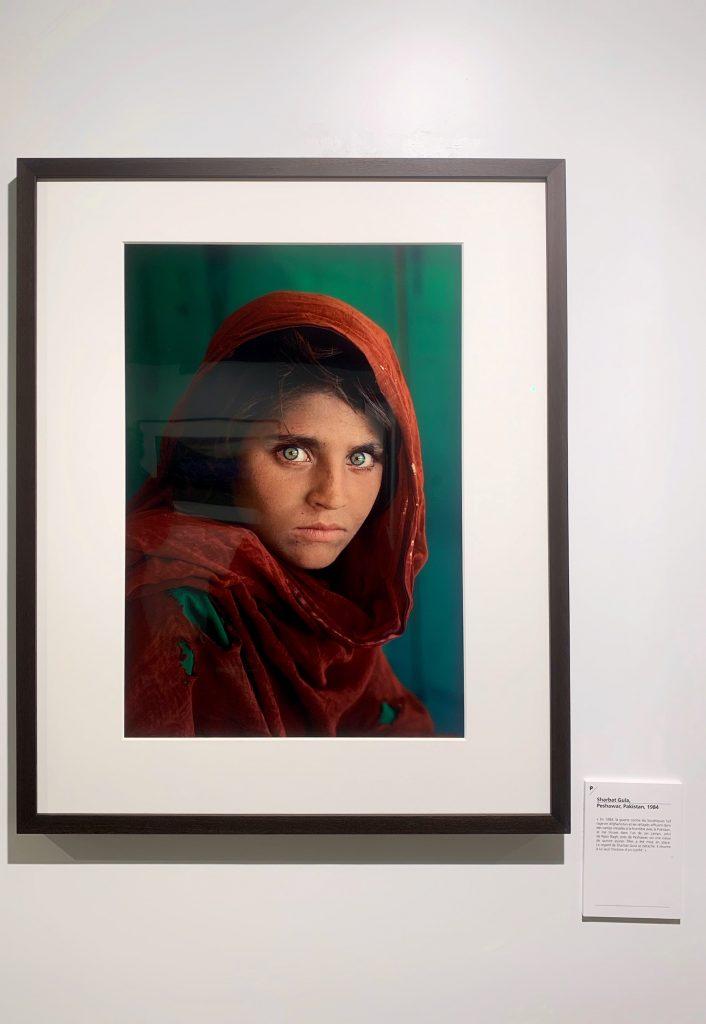 Afghan Girl at Nasir Bagh refugee camp Peshawar Pakistan 1984