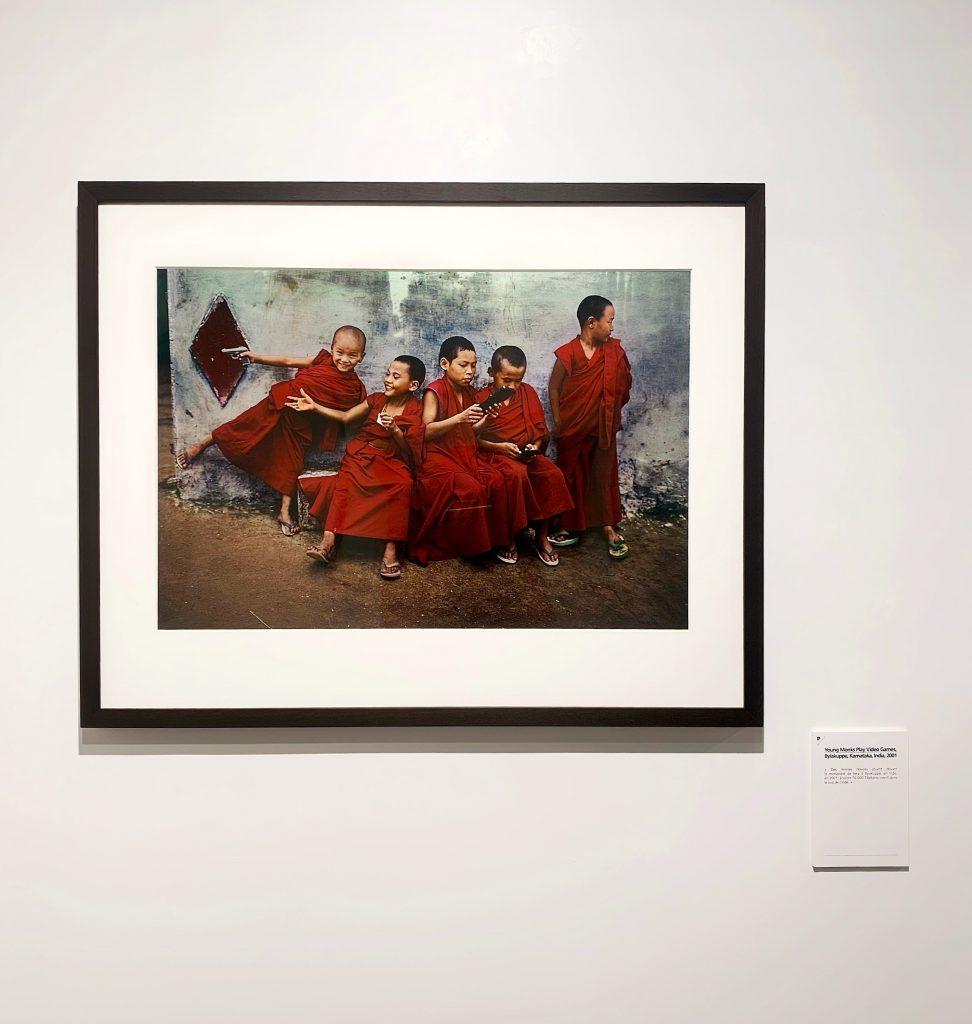 Young Monks Play Video Game Bylakuppe Karnataka India 2001